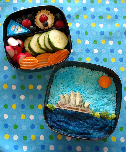 cute-food-opera-house-bento