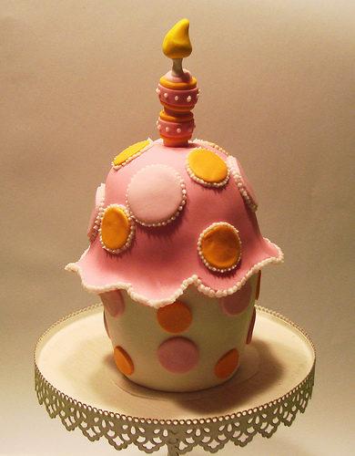 Another cupcake cake