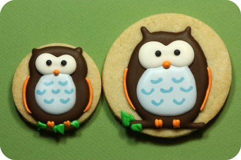 cute-food-owl-cookies