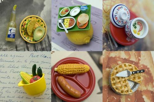 cute food photos - Itty Bitty Food Magnets