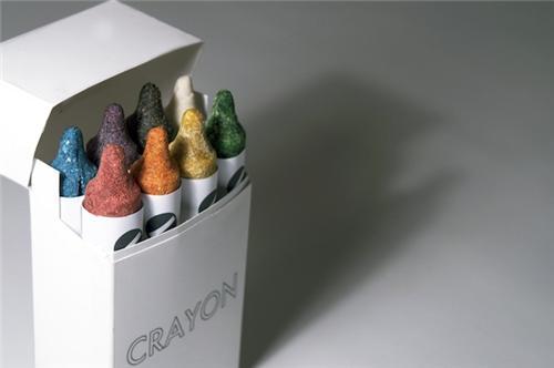 cute food photos - Handmade Edible Crayons