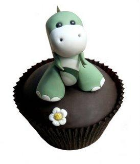 cute food photos - Lonely Dinosaur