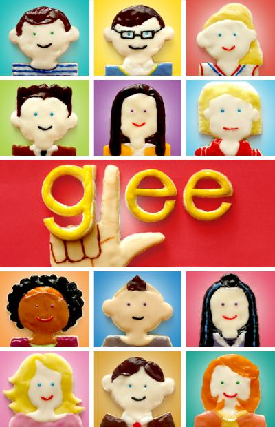 cute food photos - Glee Cookies