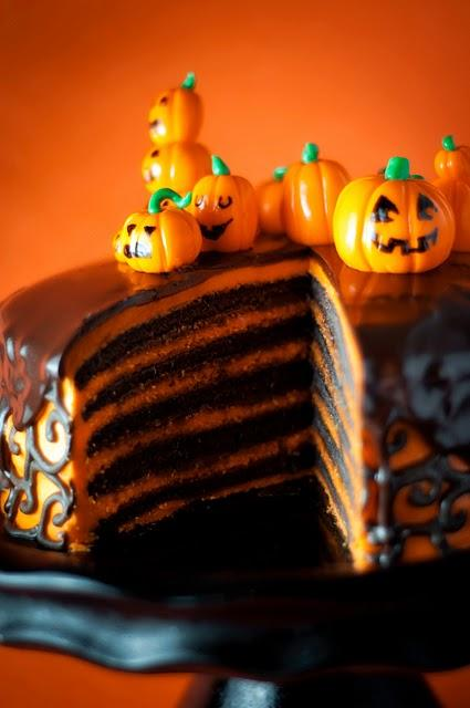 cute food photos - Halloween Cake