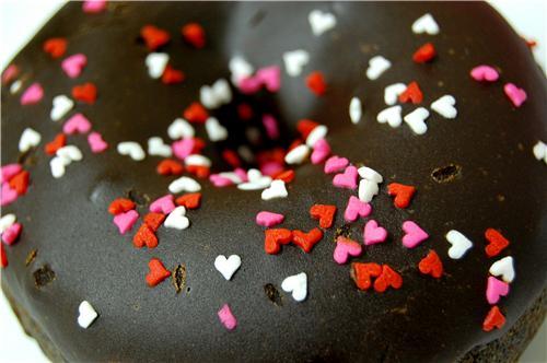 cute food photos - Chocolate Chocolate Donut